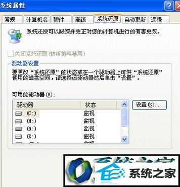 win7系统打开系统属性窗口发现没有系统还原选项的解决方法